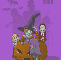 Happy Halloween. A Design&Illustration project by Marga Turnbull         - 28.08.2012