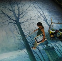 Mirall trencat. A  project by Cinta Vidal Agulló - Sep 01 2012 09:04 PM