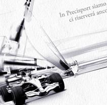 Felicitación Precisport. Un proyecto de Diseño, Ilustración y Publicidad de Luis Martínez Cequiel         - 03.09.2012