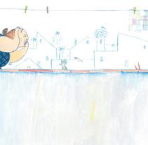 Calle Blas. A Illustration project by Nanen  - 05-09-2012