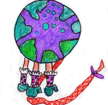 Cuento La mariposa que perdió su corazón . Um projeto de Design e Ilustração de Sara Fitta         - 07.09.2012