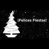 Felicitación navidad HV. Um projeto de Design, Música e Áudio, Motion Graphics e Cinema, Vídeo e TV de Sergi Sanz Vázquez         - 09.09.2012