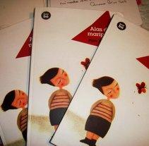 Alas de mariposa - Editorial Bambú. A Design, Illustration, and Advertising project by Mercedes De La Jara - 14-09-2012
