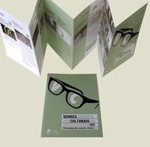 Venres Culturais. Um projeto de Design, Ilustração, Publicidade e Fotografia de Gende Estudio         - 04.10.2012