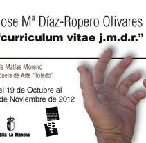 Exposicion Jose Mª Díaz-Ropero. Un proyecto de Diseño, Publicidad y Fotografía de David Gómez - 09-10-2012