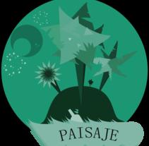 Paisaje. A Design&Illustration project by Paulamp         - 11.10.2012