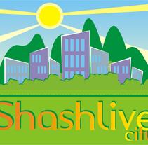 Logo Shashlive. Un proyecto de Ilustración de Tzvetelina Spaasova - 16-10-2012