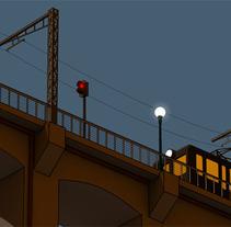 Amanece en la ciudad. Un proyecto de Ilustración y 3D de Cristián Werb         - 22.10.2012