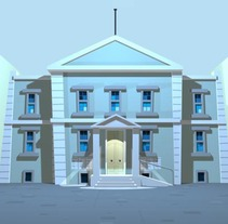 Fondo para una animación en Flash.. Un proyecto de Diseño, Ilustración y 3D de Cristián Werb         - 22.10.2012