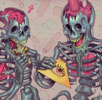 Bizarre Dreams. Un proyecto de Ilustración de Josan Gonzalez         - 28.10.2012