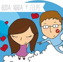 Boda Nuria y Felipe. A  project by Silvia Iglesias - 30-10-2012