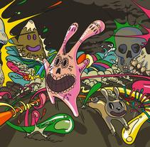 Halloween 2012. A Illustration project by Xavier Iñarra         - 31.10.2012