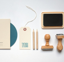 Tatabi Studio Stationery. A Illustration, and Advertising project by Tatabi Studio         - 05.11.2012