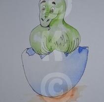 Dinos. Um projeto de Design, Ilustração, Publicidade, Instalações, Desenvolvimento de software, Fotografia, UI / UX e 3D de K07         - 06.11.2012