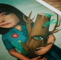 The Trees. Un proyecto de Diseño e Ilustración de Sergio Millan         - 20.11.2012