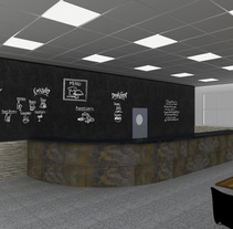 TRABAJOS EN PIZARRA. Um projeto de Design, Instalações, Fotografia e 3D de Diseño Interior         - 26.11.2012