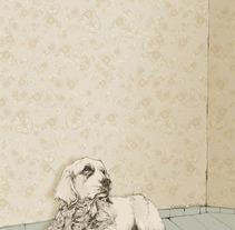 Retratos con patrón de flores. A Design, Illustration&Installations project by Cecilia Sánchez         - 30.11.2012
