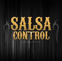 Logotype Salsa y Control orquesta. A Design, Illustration, Advertising, and Photograph project by Javier Artica Art Direction         - 12.12.2012