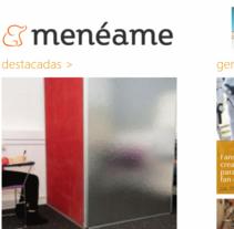 Menéame (Windows 8). Um projeto de Design, Desenvolvimento de software, UI / UX e Informática de Jordi Sánchez         - 27.12.2012