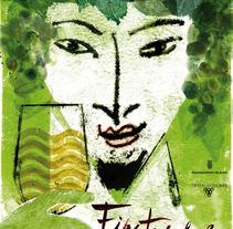 Fiestas de la Vendimia. A Design&Illustration project by Fernando Pinteño         - 01.01.2013