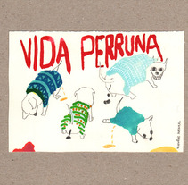 dog messy life. Un proyecto de Diseño, Ilustración y Publicidad de Laia Jou - 16-01-2013