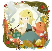 Érase una vez. Un proyecto de Ilustración de Núria  Aparicio Marcos - 28-01-2013