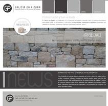 Web Galicia En Piedra. A Design, Advertising, UI / UX&IT project by Aldara Iglesias Iglesias         - 06.02.2013