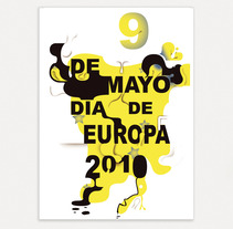 Día de Europa. A Design, and Advertising project by SimonGN90 - 07-02-2013