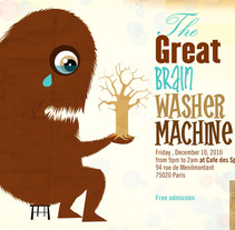 The Great brain washer machine. A Design&Illustration project by Denise Turu - 25-02-2013
