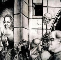 Ilustraciones a bolígrafo. Un proyecto de Ilustración de Ivan Lopez         - 14.05.2013