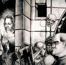 Ilustraciones a bolígrafo. Um projeto de Ilustração de Ivan Lopez         - 14.05.2013