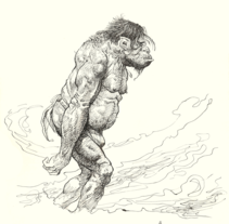 Homenaje a Frazetta. Un proyecto de Ilustración de Oscar Hernández de la Viuda - Miércoles, 13 de marzo de 2013 06:40:36 +0100
