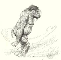 Homenaje a Frazetta. A Illustration project by Oscar Hernández de la Viuda - Mar 13 2013 06:40 AM