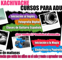 Cartelería - Cursos Kachivache. A Design, and Advertising project by Stella Gráfica - 14-03-2013