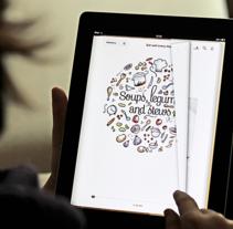 Spanish Recipes eBook. Un proyecto de Diseño editorial, Diseño Web e Ilustración de Jimena Catalina Gayo - 16.03.2013