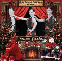 Felicitación navidad Ballet Sol y Luna. Um projeto de Publicidade de Laura González         - 26.03.2013