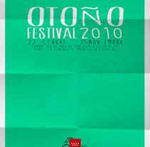 Festival de Otoño. Un proyecto de Diseño e Ilustración de Esteban Eliceche Lorente         - 04.04.2013