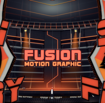 Fusion, Motion Graphics. A Design, Motion Graphics, and 3D project by Xavier Solans Porqueres - 08-04-2013