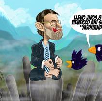 Ilustración Política. A Illustration project by Miguel Ozonas Gregori - 16-04-2013