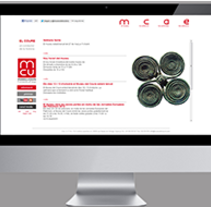 Web Html Museu del Coure. A Design, and Software Development project by Dues Creatius          - 19.04.2013
