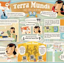 Mantel terramundi. Un proyecto de Diseño e Ilustración de Margarito Flores Rosales - 26-04-2013