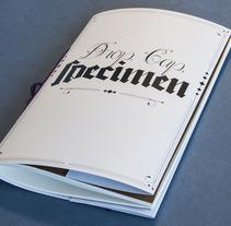 Drop Cap Specimen. Un proyecto de Diseño e Ilustración de Javier P - 02-05-2013