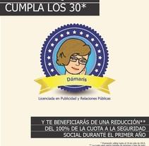 Antes de que cumpla los 30*. Un proyecto de Diseño y Publicidad de Dámaris Muñoz Piqueras - 06-05-2013