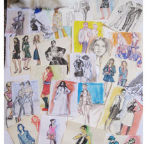 Fashion Dibus. A Illustration project by Saya Solana         - 22.05.2013