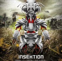 Afiche insektion. A  project by Jorge Vila - 28-05-2013