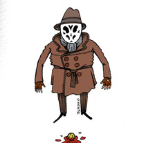 who watches the watchmen ?. A Illustration project by pedro parrilla - Jun 01 2013 04:47 PM