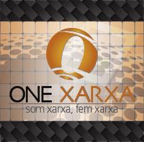 One Xarxa - Diseño gráfico y web.. Um projeto de Design, Publicidade, Desenvolvimento de software e Informática de Iván Comas         - 11.06.2013
