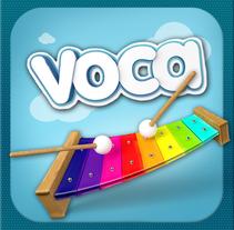 Voca Letters. A Design, Illustration, Software Development, UI / UX, 3D&IT project by Melo  - 17-06-2013