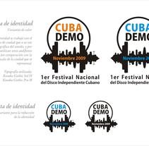 Logo CubaDemo. Un proyecto de Diseño de Marian Lopez         - 19.06.2013