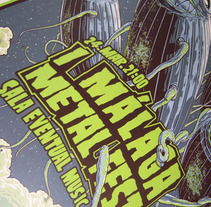 Málaga Metal Fest. A Illustration project by Ink Bad Company - Jun 22 2013 07:47 PM